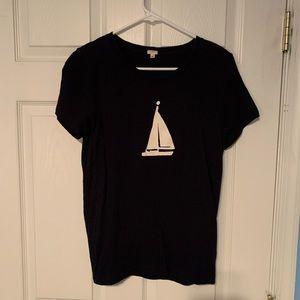 J. Crew Sailboat T Shirt